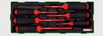 Insulated screwdrivers sets 6 items