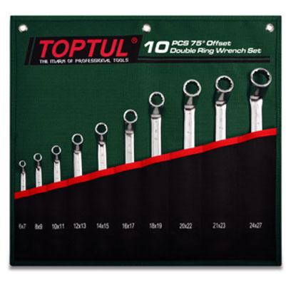 Bộ cờ lê 2 đầu vòng TOPTUL GRAI1001