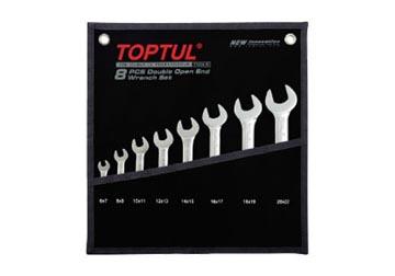 Bộ cờ lê 2 đầu mở TOPTUL GPAJ0802