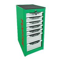 Tủ 7 ngăn( Màu xanh lá cây)  TOPTUL TBAI0701