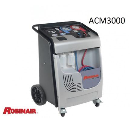 THIẾT BỊ NẠP GAS ĐIỀU HÒA Ô TÔ TỰ ĐỘNG ROBINAIR ACM3000